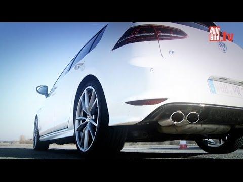 Volkswagen Golf R Хетчбек класса C - тест-драйв 4