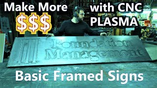 STEP UP Your CNC Plasma Sign Game & THISS Battery Review
