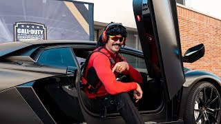 DrDisrespect at the Call of Duty World League Championship