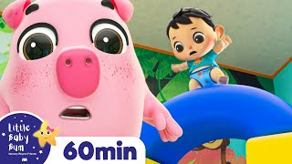 London Bridge is Falling Down! +More Nursery Rhymes and Kids Songs | ABCs and 123s | Little Baby Bum