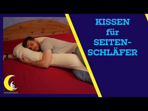Besser schlafen durch Seitenschläferkissen my7 !?