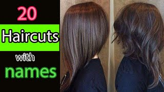 20 Types Of Haircuts For Girls With Names