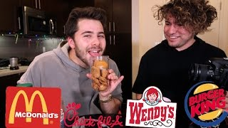 Chicken Nugget Blind Taste Test Ft. Jc Caylen