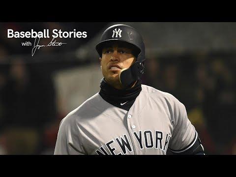Giancarlo Stanton Talks Pressures Of New York Media | Baseball Stories