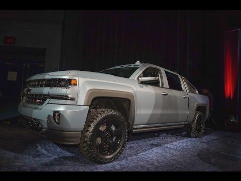 2016 Chevrolet Silverado Concepts - 2015 SEMA Show