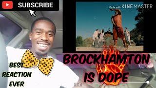 Brockhampton Is 🔥FIRE🔥 BOY BYE (Reaction Video)