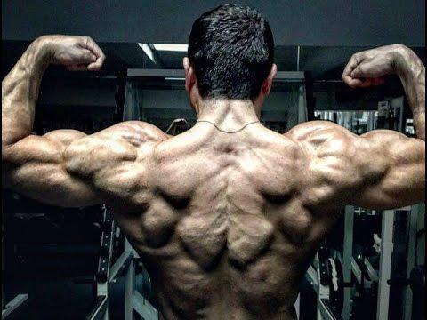 Par les haltères les muscles inférieurs du dos