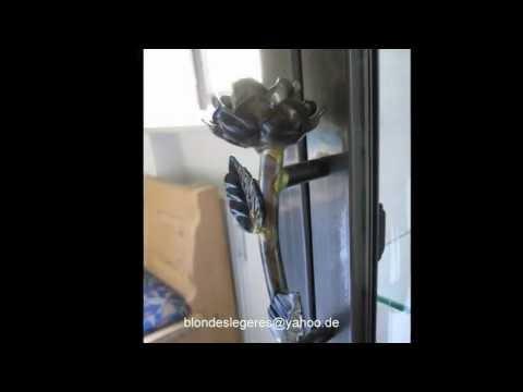 Glasvitrine Metallrahmen Spiegel 3 Glasböden Grau
