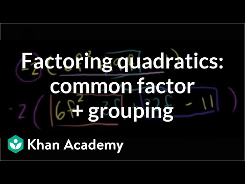 Factor polynomials using quadratic methods