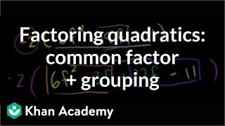Factoring Trinomials by Grouping 6