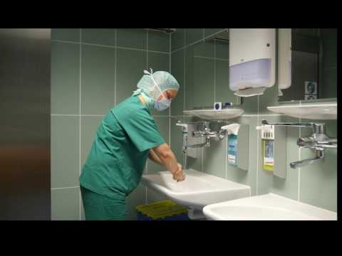 Lehrfilm Chirurgische Händedesinfektion NC Mainz Praktikum Chirurgie 8. Semester