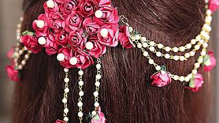 Trendy! Fashion Pink-Colorful Floral Jewelry Design For Every Bride-to-be!