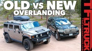 Old vs New: Best Overlander? Toyota Land Cruiser vs World's Most Hated Truck