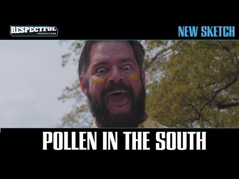 Pollen in the South
