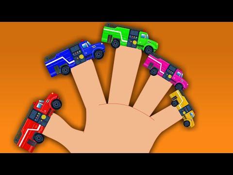 Fire Truck Finger Family | Car Videos For Kids