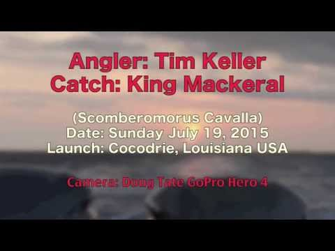 Tim Keller ~ King Mackeral ~ Cocodrie, Louisiana