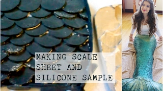 DIY Silicone Mermaid Tail Tutorial #1 - Making Scales