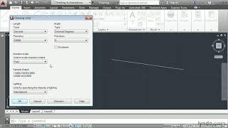 AutoCAD 2014 tutorial: Defining a unit of measure | lynda.com