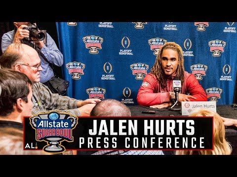 Jalen Hurts on Alabama-Clemson III in the Sugar Bowl