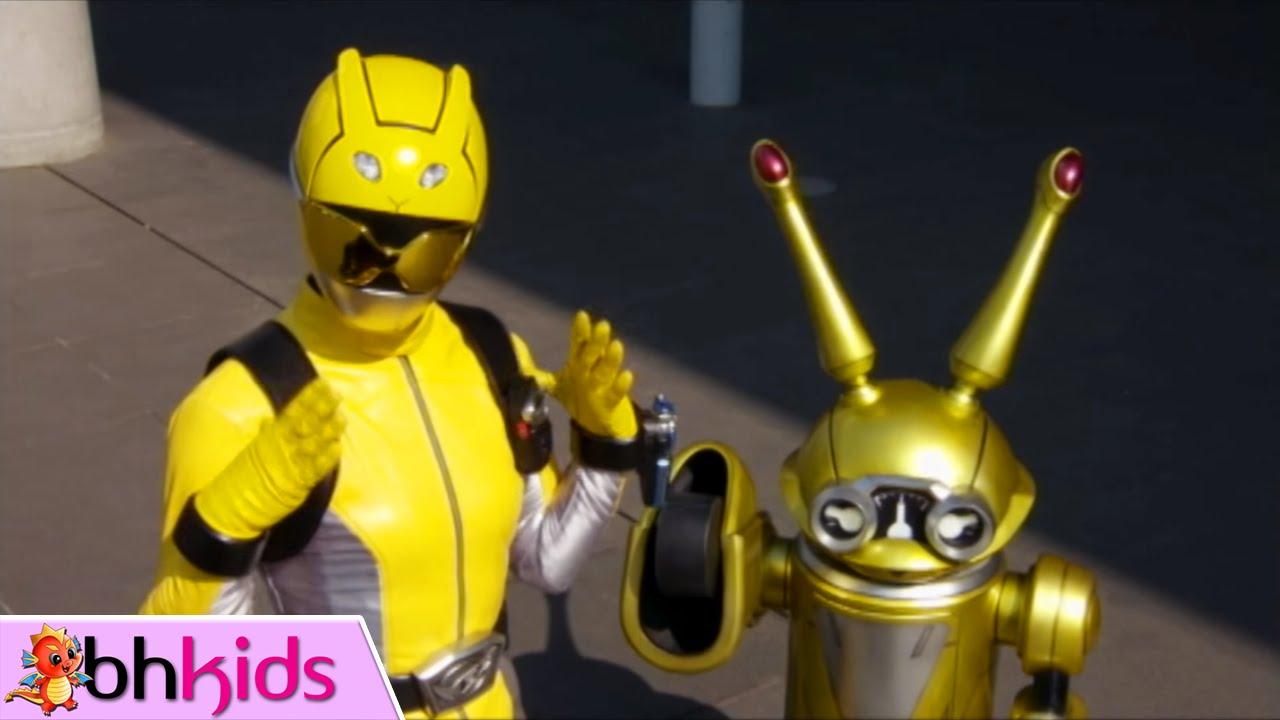Chiến Đội Đặc Mệnh - Tokumei Sentai Go-Busters, Tập 14 : Giải Cứu Siêu Nhân Vàng