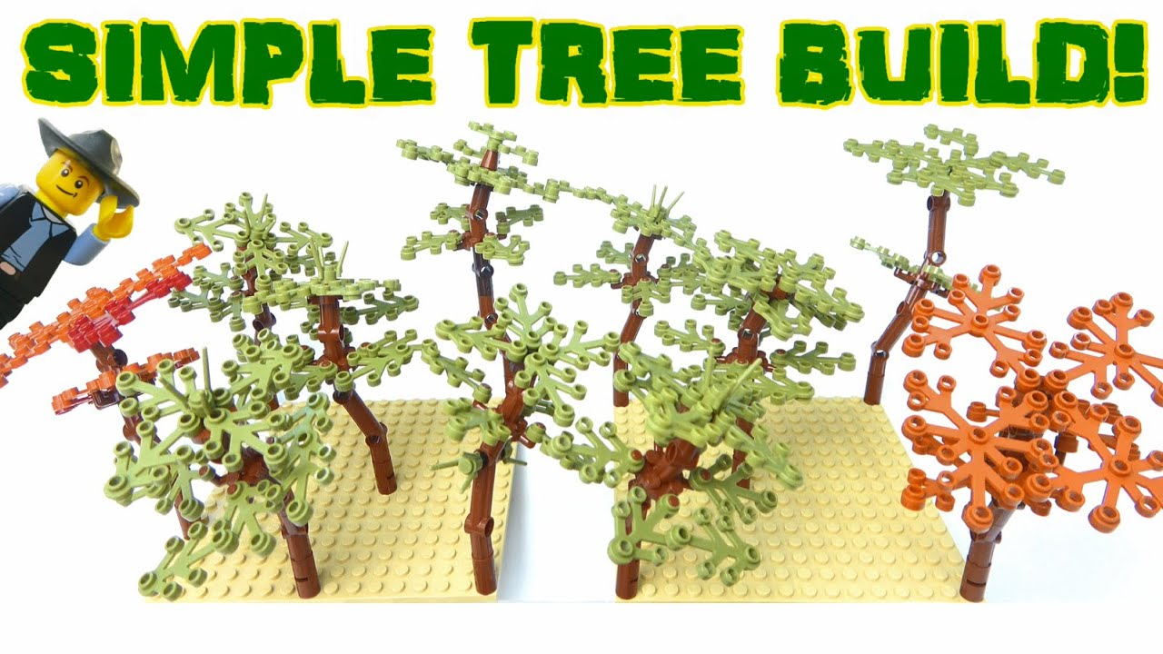 HOW TO BUILD SMALL TREES - SHOW & TELL TUTORIAL