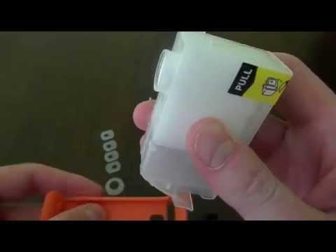 Перезаправляемые картриджи для Canon PIXMA IP4200 с чипами
