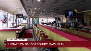 Gov. Evers to provide update on Badger Bounce Back plan Monday