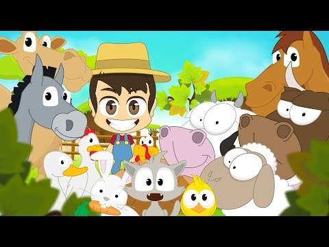 Farm Animals in Arabic for Kids - الحيوانات للأطفال - حيوانات المزرعة باللغة العربية للاطفال