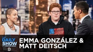 Emma Gonzalez & Matt Deitsch Discuss the Importance of Voting   The Daily Show