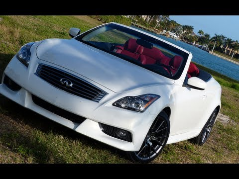 2013 Infiniti IPL G Convertible 0-60 MPH Drive Review