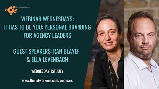 Personal Branding with Ran Blayer and Ella Levenbach
