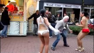 Танцуем Боба - Боба - Гога / Ремикс. Прикольные танцы и танцоры.