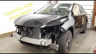 Rebuilding 2017 Lexus RX350 Fsport from Copart prt 12
