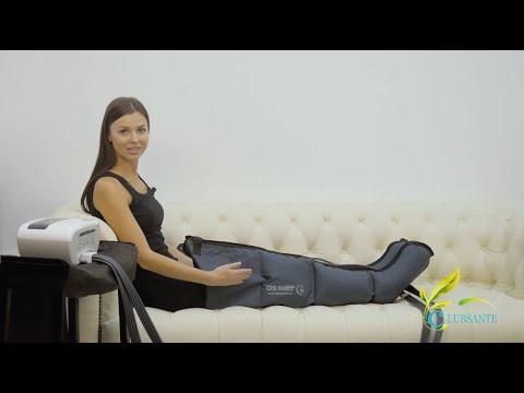 Аппарат для прессотерапии (лимфодренажа) DOCTOR LIFE LX7 + манжеты для ног (ХХL)
