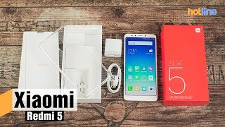 Смартфон Xiaomi Redmi 5 3/32GB Gold (Global) от компании F-Mart - видео