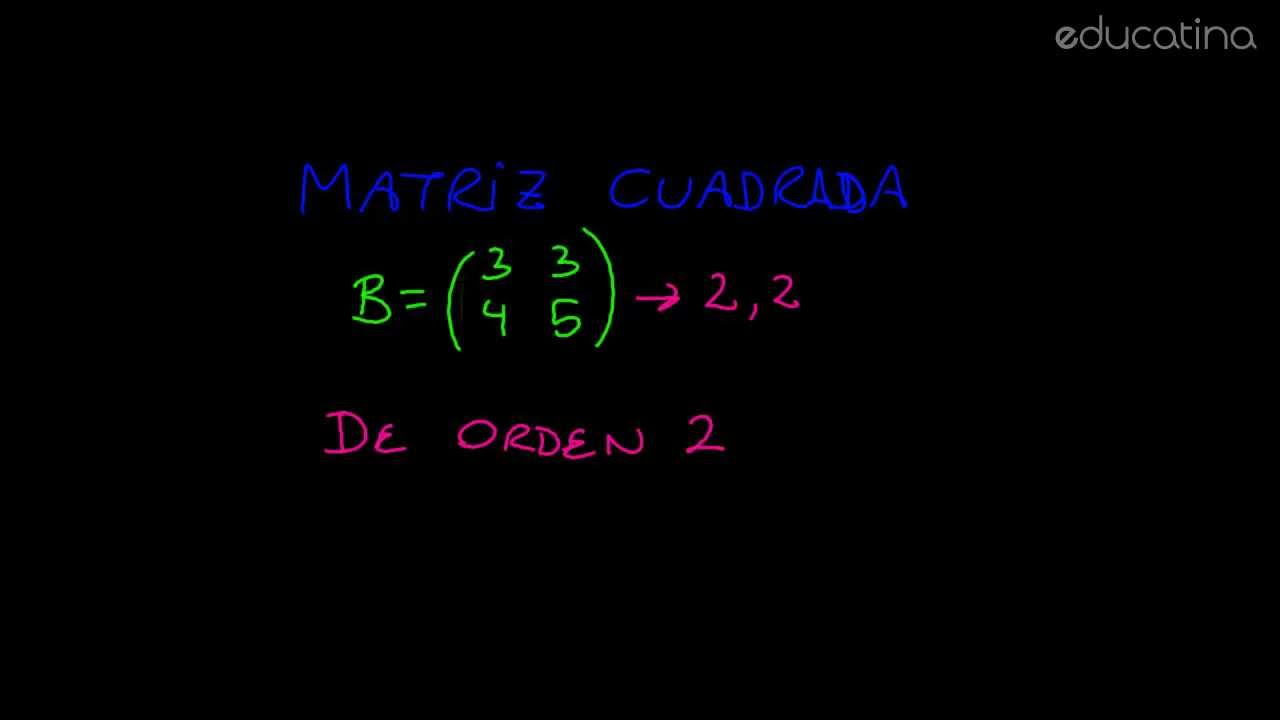 Educatina - Principales matrices