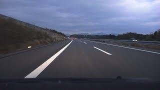 4KE1A新名神高速道路・滋賀県区間上り等速名神・草津JCT→亀山JCT→東名阪道・亀山IC