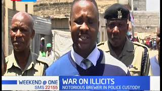 Police raid illegal Kayole Brewery and destroy 400 litres of illicit brew | War on Illicits