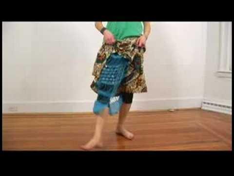 Senegalese Sabar Dance Basics : Senegalese Sabar Dance: 5-Step Jump Feet