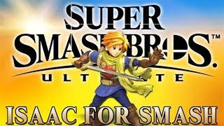 Isaac for Super Smash Bros Ultimate!