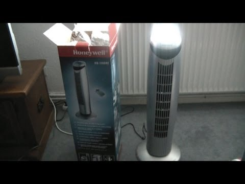 Honeywell HO 1100RE Ventilator Test + unboxing