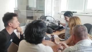 Певец Дмитрий Нестеров, Андрей Краснов, Светлана Рерих, Алла Никитина - радио Милицейская волна