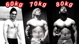 My Transformation from 60 to 80 KG. Diet for weight Gain. Part - 2