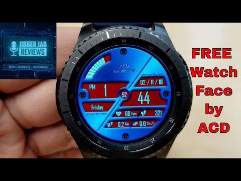 FREEBIE ALERT!* Samsung Galaxy Watch/Gear Watch Faces by