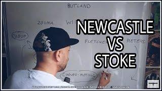 Tactics board | Newcastle United v Stoke City | Preview