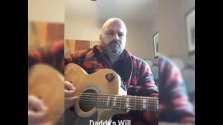 The will - Mark Chesnutt Cover