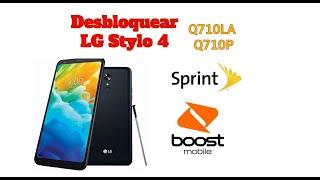 Desbloquear LG Stylo 4 (Sprint & Boost Mobile) Q710AL - Q710P