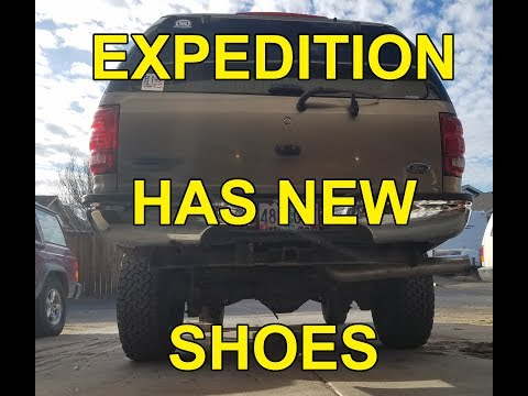 2/10/18 Saturday night update expedition wheels and tires are on !!!!!!
