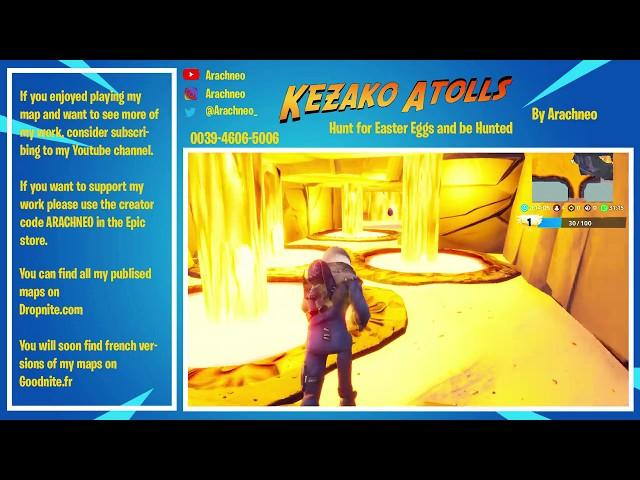 KEZAKO ATOLLS - Chasse aux oeufs de paques