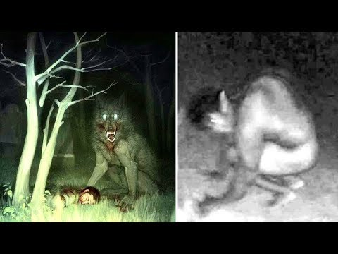 Mysterious Giant Werewolves Are Being Witnessed Around England